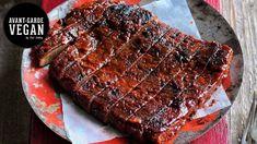 STICKY BBQ 'RIBS' VEGAN    @avantgardevegan by Gaz Oakley - YouTube