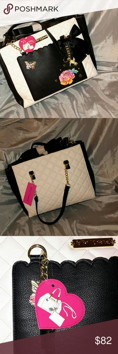 Betsey johnson quilted hummingbird bag Cobra with removable insert bag (third pic). Nwt. ML Betsey Johnson Bags Shoulder Bags
