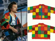 Crochet Jacket, Crochet Cardigan, Crochet Clothes, Diy Clothes, Knitting Stitches, Hand Knitting, Tricot Simple, Harry Styles Clothes, Moss Stitch