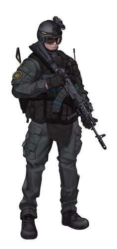 ArtStation - Special Force, BYPOS 44