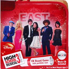 High School Musical 3 CD Board Game in Portfolio: It's Senior Year at East High. Join the High School Musical gang as they face their hopes, dreams and their fears on the way to the graduation stage.