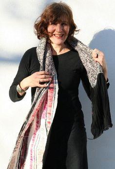 wool felt felted magnin accessoires scarf vilt zamirte