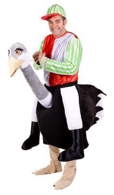 sie wollten schon immer mal einen vogelstrauss reiten mit diesem kostum kommen sie diesem gefuhl