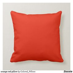 Home Interior Cocina bright red pillow.Home Interior Cocina bright red pillow Red Decorative Pillows, Red Throw Pillows, Pink Pillows, Colorful Pillows, Toss Pillows, Custom Pillows, Decor Pillows, Red Cushions, Orange Pillows