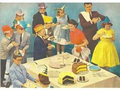 kaart 'Birthday Party'