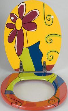 toilet seat pop art