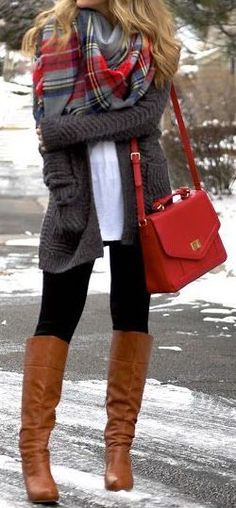 winter fashion knit boots