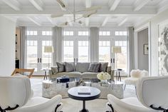 Tamara Magel show cases a beautiful home she designed in the Hamptons