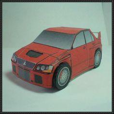 SD Mitsubishi Lancer Evolution Paper Car Ver.2 Free Vehicle Paper Model Download - http://www.papercraftsquare.com/sd-mitsubishi-lancer-evolution-paper-car-ver-2-free-vehicle-paper-model-download.html