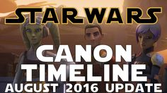 Star Wars Canon Timeline Update: August 2016- Star Wars Canon