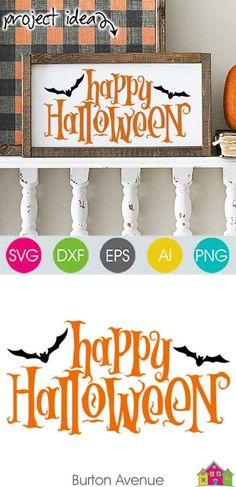 500 Best Halloween Projects Images In 2020 Halloween Projects Diy Halloween Projects Cricut