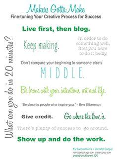 LOVE my blogger friends - Alt Summit Roundtable - Makers GottaMake