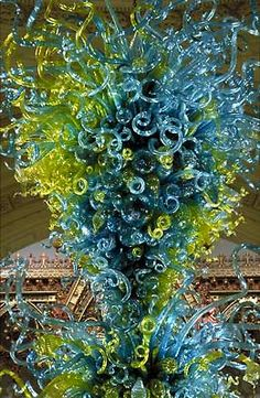 Dale Chihuly #Glass #Chandelier wow