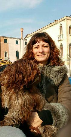 Zita und ich in Venedig