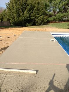 Installing expansion Joints in this soon to be brushed deck.