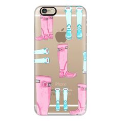 iPhone 6 Plus/6/5/5s/5c Case - Rain Boots ($40) ❤ liked on Polyvore featuring accessories, tech accessories, phone cases, cases, iphone case, phones, iphone cover case, apple iphone cases and slim iphone case