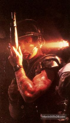 Aliens (1986) Publicity still of Michael Biehn.