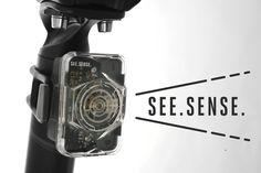 See Sense  - The intelligent bike light.