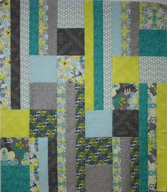 Unfinished Quilt Top Ready to Quilt Baby by RedButtonQuilting