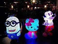 Minion, Hello Kitty and Mickey Mouse