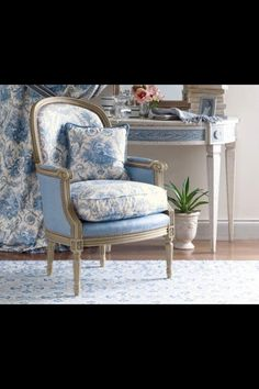 Love this chair! Chic & antique
