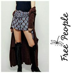 ❎HOLD❎FREE PEOPLE • Flirty Shorts NWT! Free People Flirty Shorts in eggplant have a side tie & hidden zipper! Beautiful print and colors in these flowy seasonless cutie pants. Wear with bare legs & sandals or tights & boots for a fun anytime of year outfit!   🚫No Trades 🙄😘  🔘Use OFFER button to negotiate👍🤑 🔘Please Ask ❓'s BEFORE you Buy🤔😃 💕Thank you for stopping by! Happy Poshing!💕 Free People Shorts