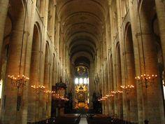 Zdj�cia: Tuluza, Langwedocja-Roussillon, bazylika St-Sernin, FRANCJA