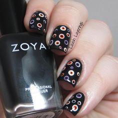 Lavish Layerings: CYNA Halloween Challenge: Classic Orange and Black