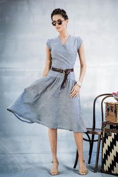 Outback Dress- Love the cut of this dress. It's not like anything I own already. I would love to have a dress like this sent in a stitch fix