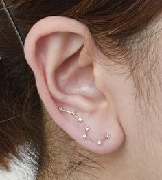 Omg darling small dipper constellation for your lobes.