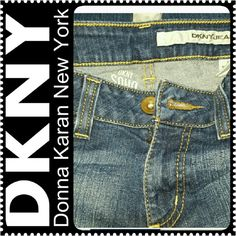CLEARANCE! DKNY Soho Jeans Ladies DKNY Boot Cut Jeans, Petite Sized, Mint Condition DKNY Pants Boot Cut & Flare