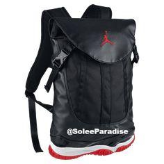 219f4468fa1a Jordan 11 Bred Inspired BookBag. Air Jordan 11 BredNike ...