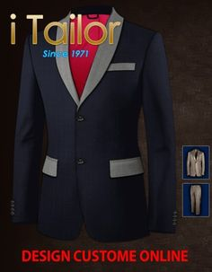 Design Custom Shirt 3D $19.95 heren colbert Click http://itailor.nl/suit-product/heren-colbert_it54228-1.html