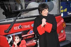 Liza Minnelli - Gray Line New York Ride of Fame Inductee - March 2011