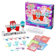 Yummy Nummies Mini Kitchen Magic Girls and Boys Playset - Soda Shoppe Maker Kitchen Magic, Mini Kitchen, Toys For Girls, Kids Toys, Starbucks Nails, Bubble Gum Flavor, Tiny Food, Lol Dolls, Unicorn Birthday Parties