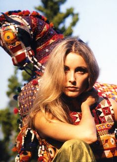 Sharon Tate, 1968. Photo by Walter Chappell