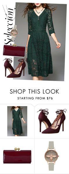 """dress"" by masayuki4499 ❤ liked on Polyvore featuring Massimo Matteo, Ted Baker, Olivia Burton and Fremada"