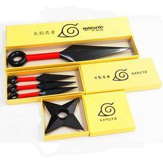 New For JP Anime Naruto Leaf Village Ninja Weapons Cosplay Plastic Kunai Props #Unbranded
