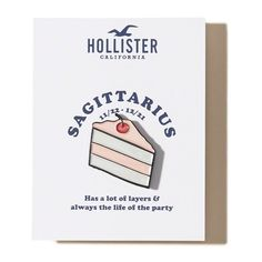 Hollister x Valley Cruise Press Zodiac Pin (20.390 COP) ❤ liked on Polyvore featuring jewelry, brooches, pins, accessories, sagittarius, pin brooch, enamel jewelry, pin jewelry and enamel brooches