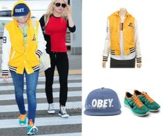 Sunny  Jumper: Lakers Arena Hooded Cap: Obey, The City Snapback Sneakers: Nike