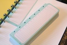 simply organized: simple blog organizer/notebook - with Martha Stewart