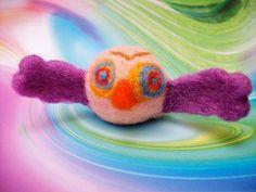 SALE Needle Felted Bird Small Wool Bird by FeltWithAHeart on Etsy