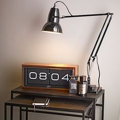 Buy LEFF Amsterdam 24 Hour Brick Clock by Erwin Termaat Online at johnlewis.com