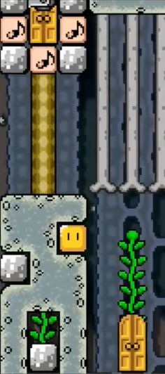 Super Mario Maker | Locked Reset Door