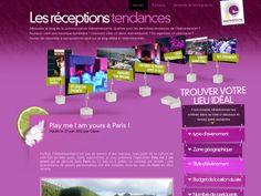 """Création du blog """"Les réceptions tendances"""", agence d'évènementiel """"Events & Home"""" organisateur de mariages et d'évènements clés en main."""