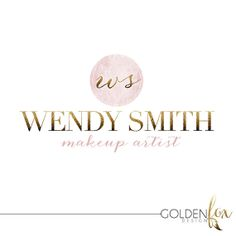 Premade logo, fashion, blogger, photographer, modern, senior photography, gold glitter, Watermark Logo Photography Event by GoldenFoxDesign, $35.00