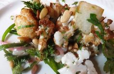 Cauliflower salad at Joseph Leonard
