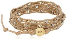 Chan Luu Swarovski Crystal Mix Wrap Bracelet