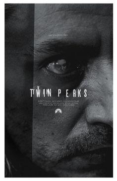 Twin Peaks 24x36 inch poster | Designer: Adam Juresko
