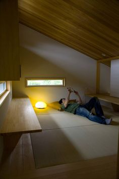 木名瀬佳世建築研究室 の モダンデザインの 書斎 袋井の家 畳の書斎